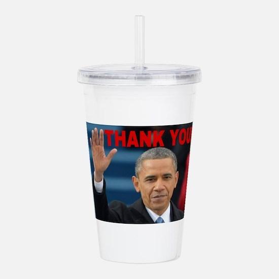 Barack Obama Acrylic Double-wall Tumbler