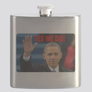 YES WE DID! Flask