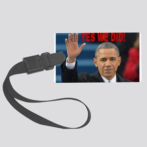 YES WE DID! Large Luggage Tag