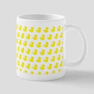 Rubber Ducky Pattern Mugs