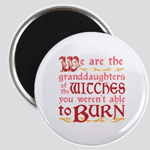 Granddaughters of Witches Magnets