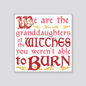 Granddaughters of Witches Sticker