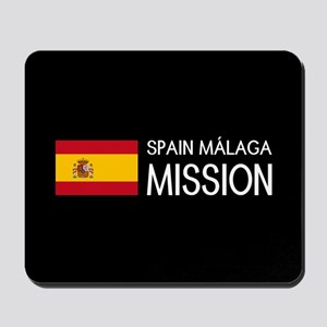 Spain, Málaga Mission (Flag) Mousepad