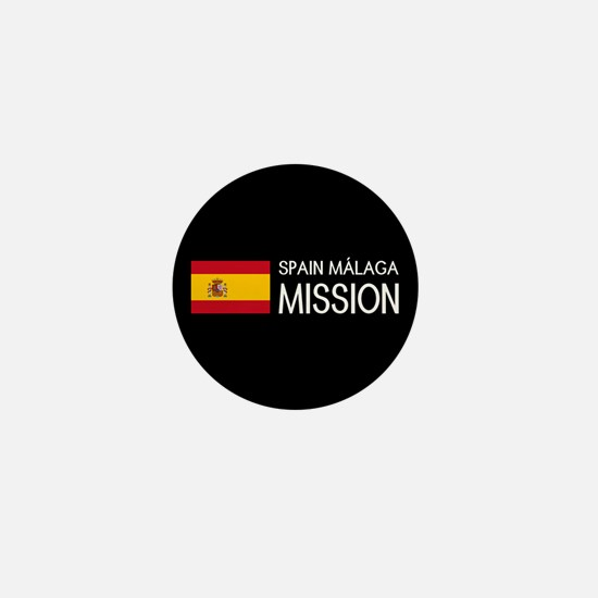 Spain, Málaga Mission (Flag) Mini Button