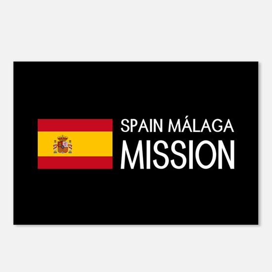 Spain, Málaga Mission (Fl Postcards (Package of 8)