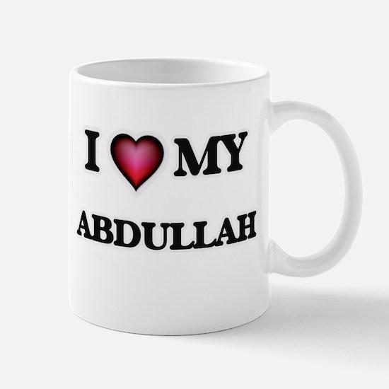 I love Abdullah Mugs