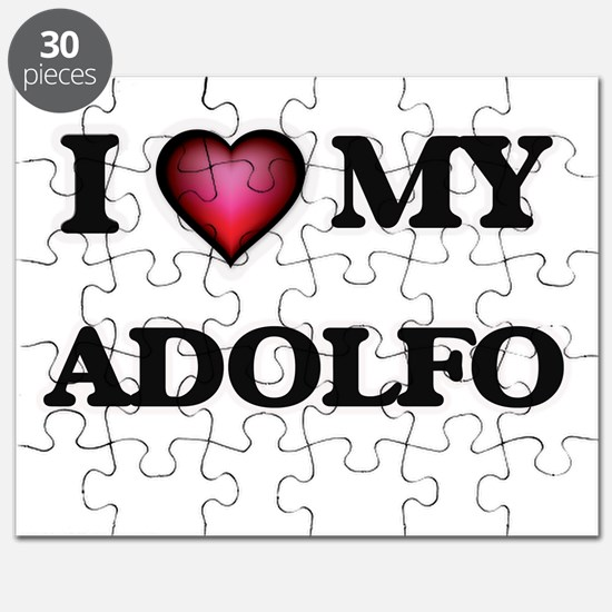 I love Adolfo Puzzle