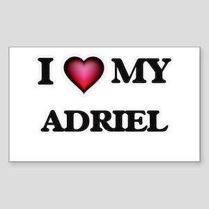 I love Adriel Sticker
