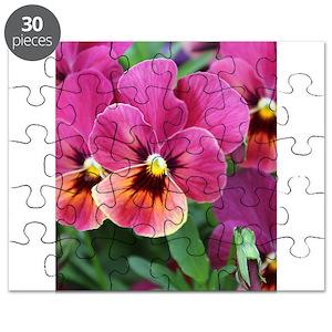 Pansy puzzles cafepress mightylinksfo