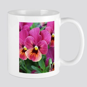 Pansy mugs cafepress european garden pink pansy flower mugs mightylinksfo Choice Image