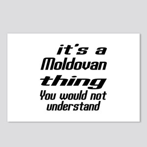 It Is Moldovan Thing You Postcards (Package of 8)