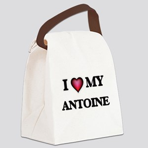 I love Antoine Canvas Lunch Bag