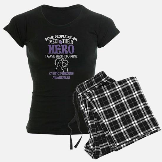 Mom Cystic Fibrosis Awareness T Shirt Pajamas