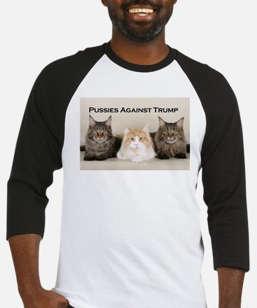 Pussies Against Trump Baseball Jersey