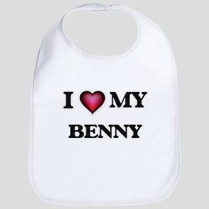 I love Benny Baby Bib