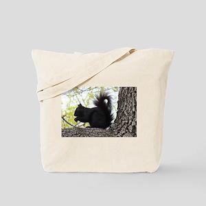 Curious Squirrel Tote Bag