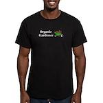 Organic Gardener Men's Fitted T-Shirt (dark)