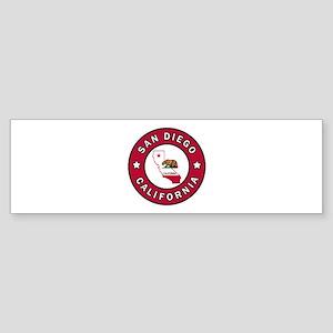 San Diego California Bumper Sticker