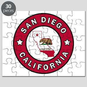 San Diego California Puzzle