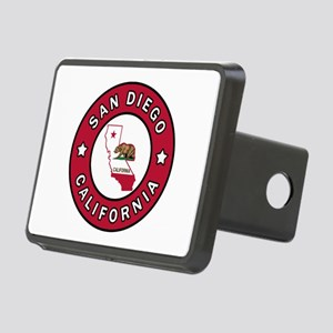 San Diego California Rectangular Hitch Cover