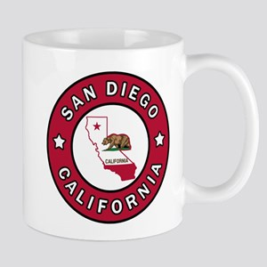 San Diego California Mugs