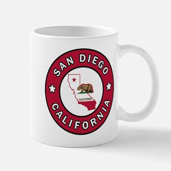 San Diego California Mugs