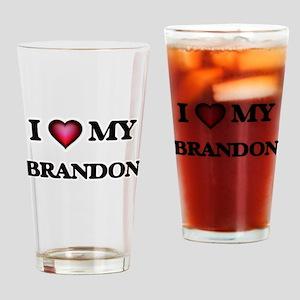 I love Branson Drinking Glass