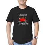 Organic Gardener Men's Fitted T-Shirt (dark)