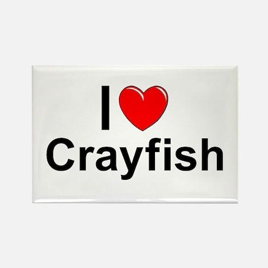 Crayfish Rectangle Magnet