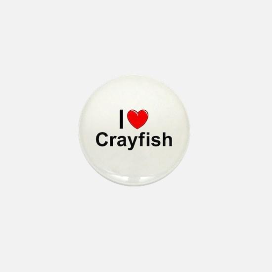 Crayfish Mini Button