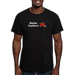 Market Gardener Men's Fitted T-Shirt (dark)