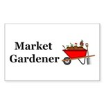 Market Gardener Sticker (Rectangle 10 pk)