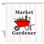 Market Gardener Shower Curtain