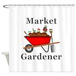 Market Gardener Shower Curtain