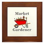 Market Gardener Framed Tile