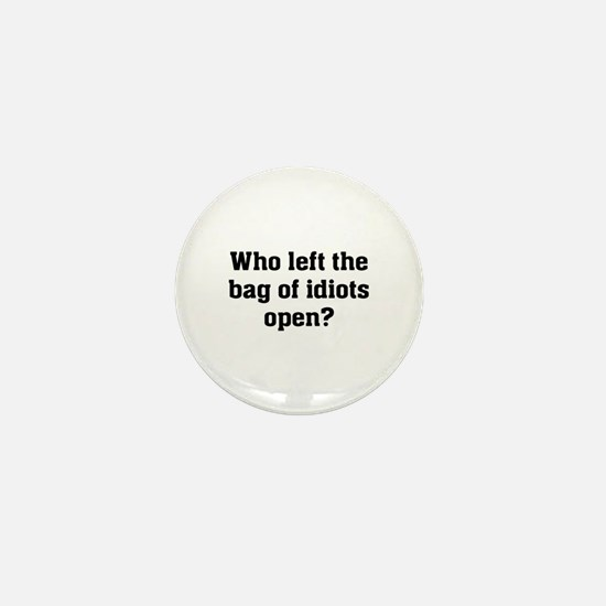 Bag Of Idiots Mini Button
