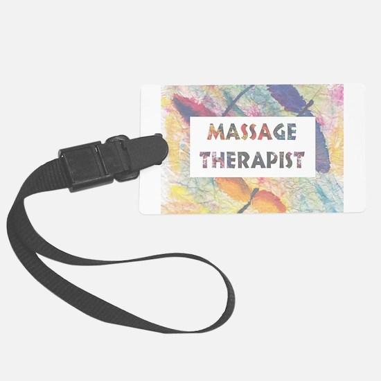 Massage Therapist Luggage Tag