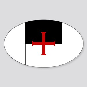 Knights Templar Flag Sticker