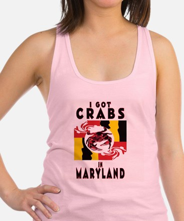 I Got Crabs in Maryland Tank Top
