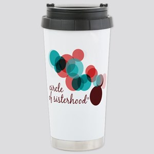 Circle of Sisterhood Lo Stainless Steel Travel Mug