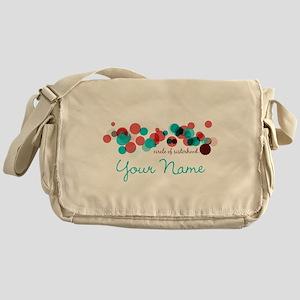 Circle of Sisterhood Logo Personaliz Messenger Bag