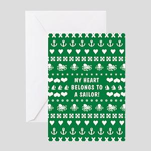 MY HEART BELONGS... Greeting Cards