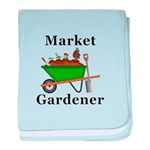 Market Gardener baby blanket