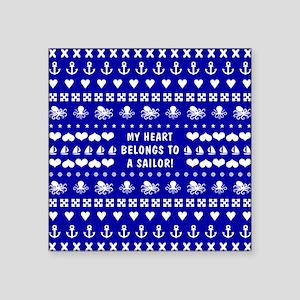 MY HEART BELONGS TO... Sticker