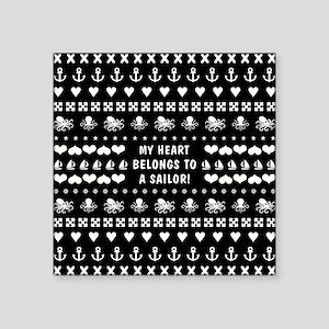 MY HEART BELONGS... Sticker