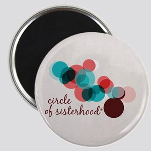 Circle of Sisterhood Logo Magnet