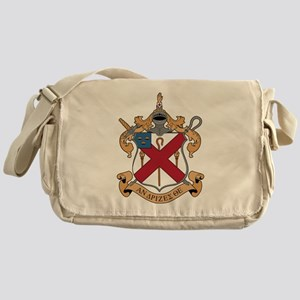 Alpha Chi Rho Crest Messenger Bag