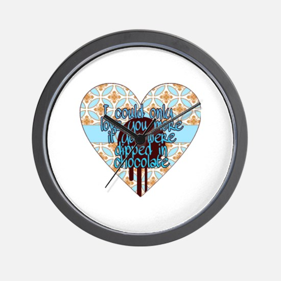 Cute Love you more Wall Clock