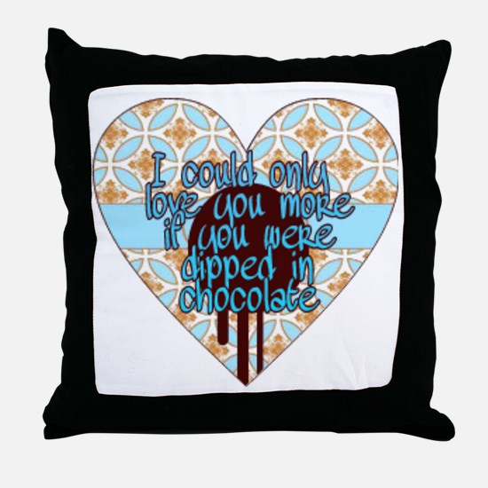 Unique Love you more Throw Pillow