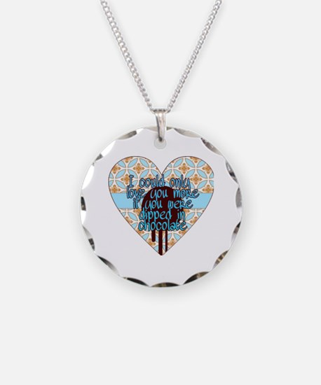 Cute I love you more Necklace